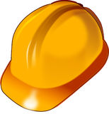 Yellow, Orange, Headgear, Personal Protective Equipment Stock Photo