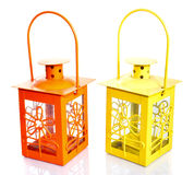 Yellow & Orange Lantern Stock Photo