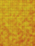 Yellow and orange mosaic Stock Photo