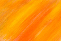 Yellow and orange painted texture Stock Photos