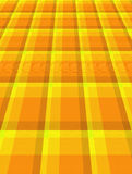 Yellow and Orange Perspective Background Stock Photography
