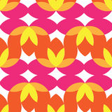 YELLOW ORANGE PINK PATTERN Stock Images