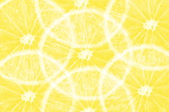 Yellow orange slice texture background Stock Photography