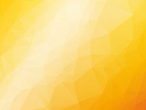 Yellow orange summer background. Abstract triangular yellow orange summer background Stock Photography