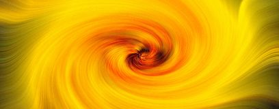 Yellow and orange swirl background vector illustration
