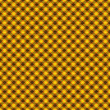Yellow and Orange Tartan Seamless Background Royalty Free Stock Images
