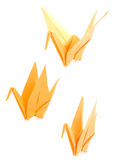 Yellow Origami Royalty Free Stock Image