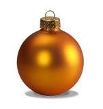 Yellow ornament with clipping path royalty free stock photography