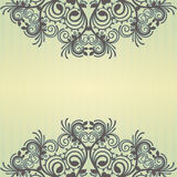 Yellow ornamental background Royalty Free Stock Images