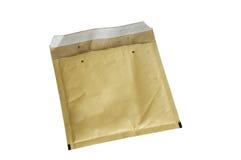 Yellow packaging envelope Royalty Free Stock Photo