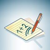 Yellow Pages & penna illustrazione di stock
