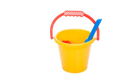 Free Yellow Pail Royalty Free Stock Photography - 9190267