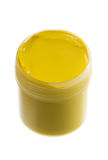 Yellow paint Royalty Free Stock Image
