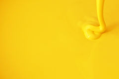 Yellow paint Stock Photography