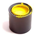 Yellow Paint Royalty Free Stock Photo