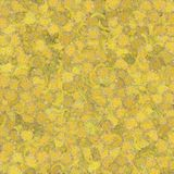 Yellow Paint Blotch Background Royalty Free Stock Photo