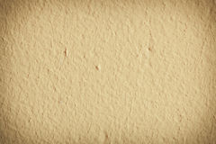 Yellow paint concrete wall background or texture Royalty Free Stock Photography