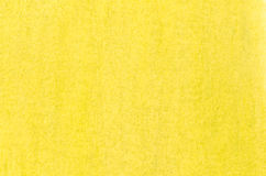 Yellow painted abstract background Stock Photography