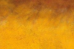 Yellow painted brick wall Stock Image