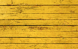 Yellow Painted Plank Royalty Free Stock Image