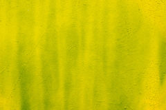 Yellow painted wall background texture Royalty Free Stock Photography