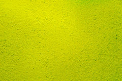 Yellow painted wall background texture Royalty Free Stock Images