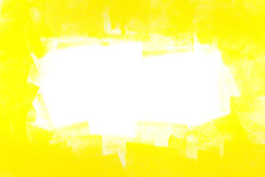 Yellow painted wall Royalty Free Stock Images