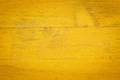 Yellow painted wood background Royalty Free Stock Photo