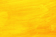 Yellow painting detail Stock Image
