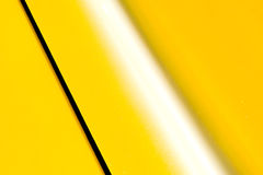 Yellow panel Stock Photo