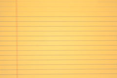 Yellow paper Royalty Free Stock Photography