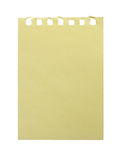 Yellow paper. Stock Photo