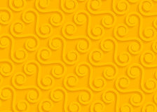 Yellow paper geometric pattern, abstract background template for website, banner, business card, invitation Stock Image