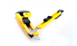 Yellow Paper Knife Royalty Free Stock Images