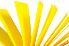Yellow paper records Stock Photos