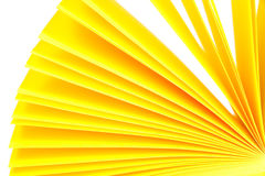 Yellow paper records Royalty Free Stock Photos