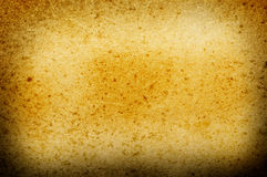 Yellow paper texture Royalty Free Stock Images