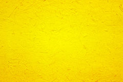 Yellow paper texture for background Royalty Free Stock Images