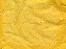Yellow paper texture background Stock Photo