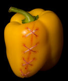 Yellow paprika Royalty Free Stock Photography