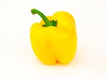 Yellow paprika Stock Images