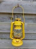 Yellow paraffin lamp Royalty Free Stock Image