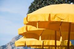 Yellow Parasol Royalty Free Stock Image