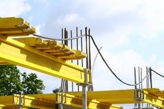 Yellow parts royalty free stock image