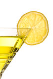Yellow party drink Royalty Free Stock Image