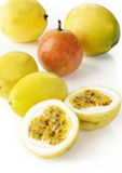 Yellow passion fruit Royalty Free Stock Photography