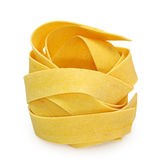 Yellow pasta Royalty Free Stock Photography