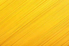 Yellow pasta background Stock Images