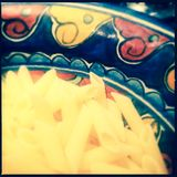 Yellow pasta Royalty Free Stock Photo