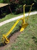 Yellow Pathmaker Royalty Free Stock Image